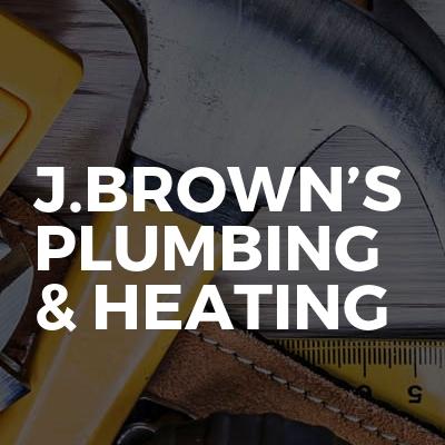 J.Brown's Plumbing & Heating