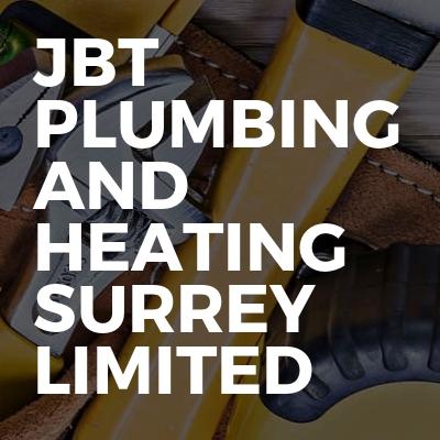Jbt Plumbing and heating Surrey limited