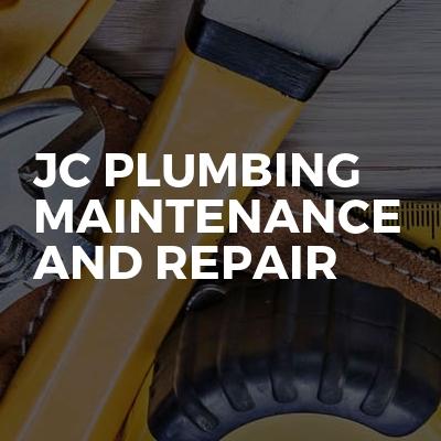 JC plumbing maintenance and repair