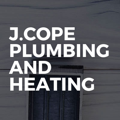 J.Cope Plumbing and Heating