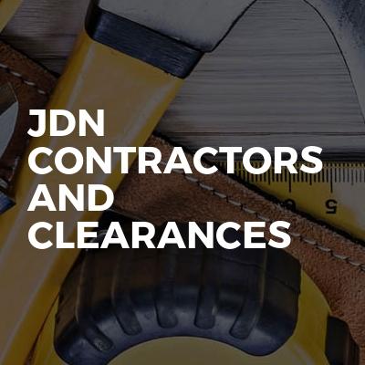 JDN Contractors and clearances