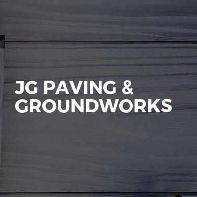 JG Paving & Groundworks