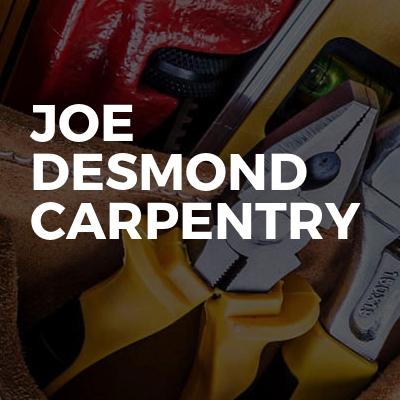 Joe Desmond carpentry