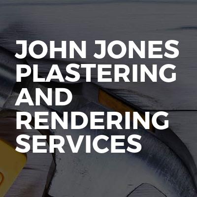 John jones plastering and rendering services