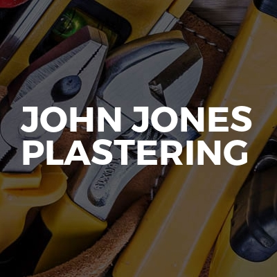 John Jones plastering