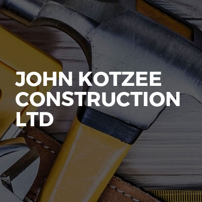 John Kotzee Construction Ltd