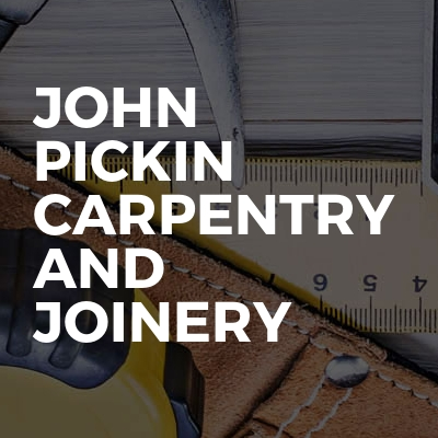 John pickin carpentry and joinery