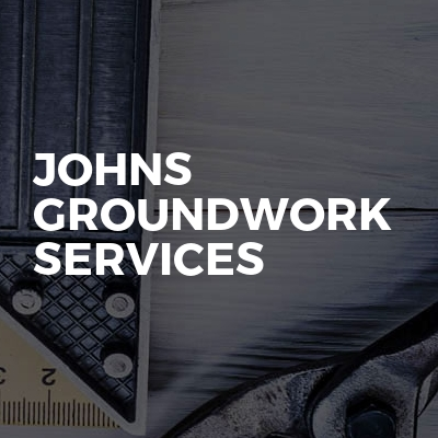 Johns Groundwork Services