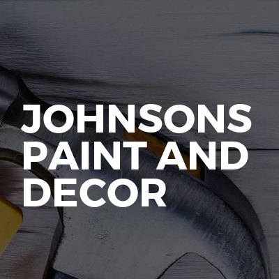 Johnsons Paint And Decor