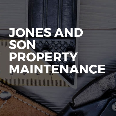 Jones and son property maintenance