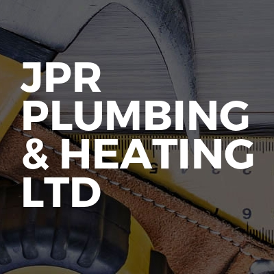 JPR Plumbing & heating Ltd