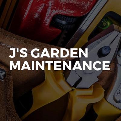 J's Garden maintenance