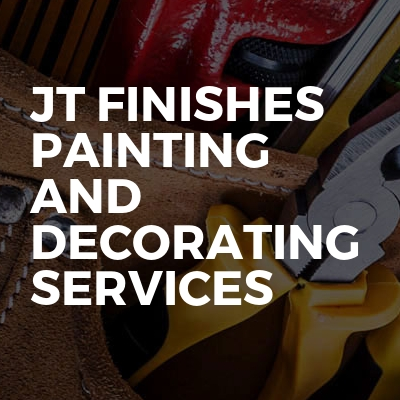 Jt finishes painting and decorating services