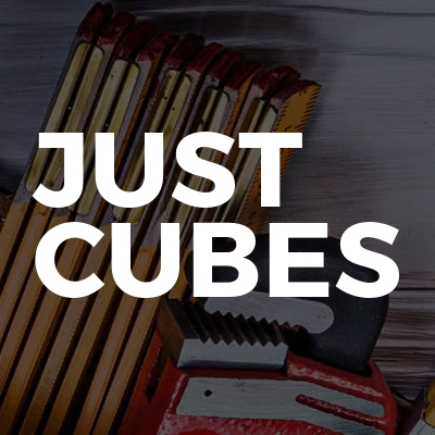 Just cubes