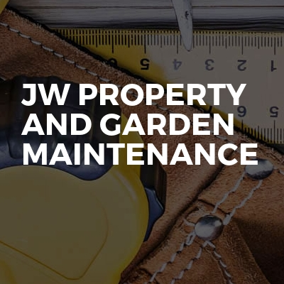 Jw Property And Garden Maintenance