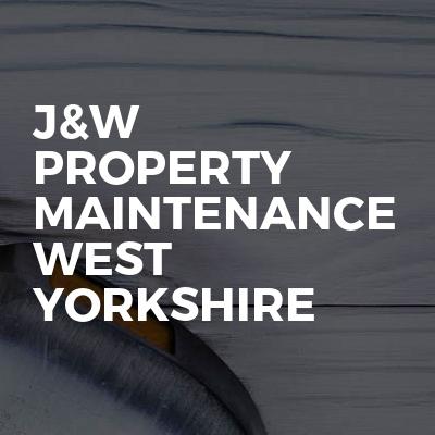 J&W Property maintenance west Yorkshire