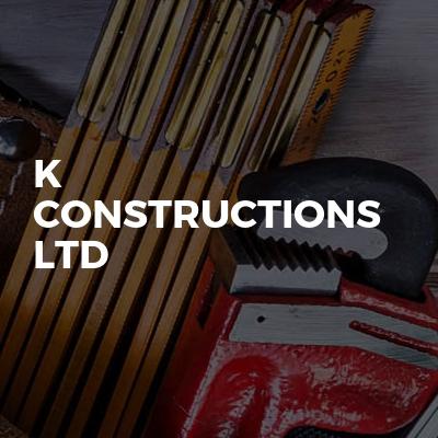K Constructions Ltd