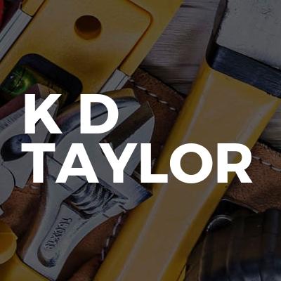 K D Taylor