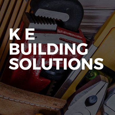 Drains K E building solutions