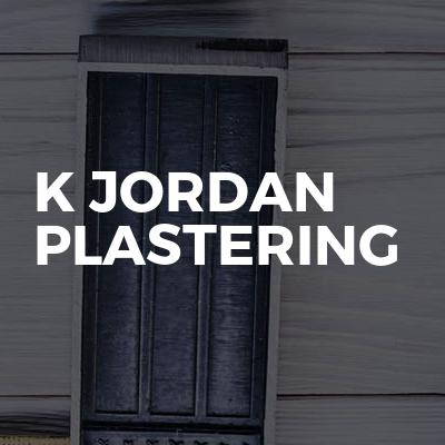 K Jordan plastering