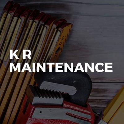 K R Maintenance