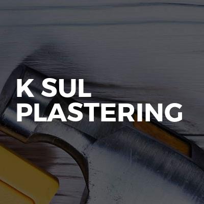 K Sul Plastering