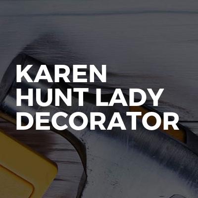 Karen Hunt Lady Decorator