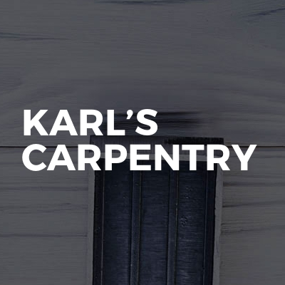 Karl's carpentry