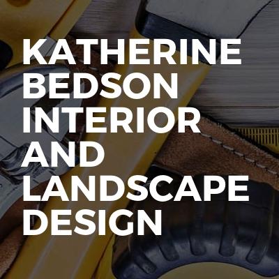 Katherine Bedson Interior and Landscape Design