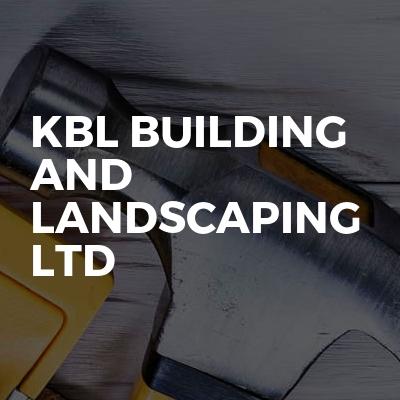 KBL Building and Landscaping ltd