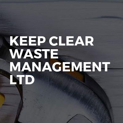 KEEP CLEAR WASTE MANAGEMENT LTD