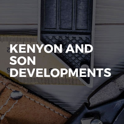 Kenyon And Son Developments