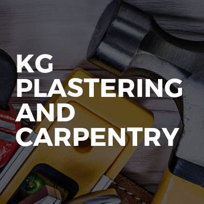 Kg Plastering And Carpentry