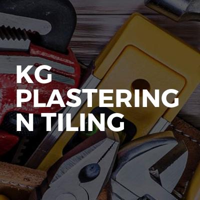 KG plastering n tiling