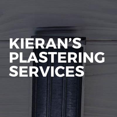 Kieran's plastering services