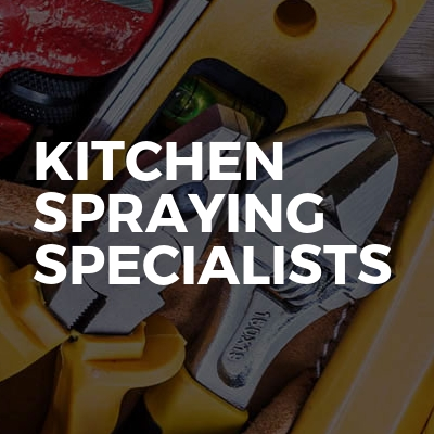 Kitchen Spraying Specialists