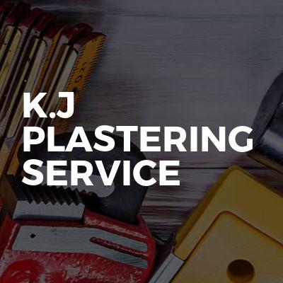 K.j plastering service