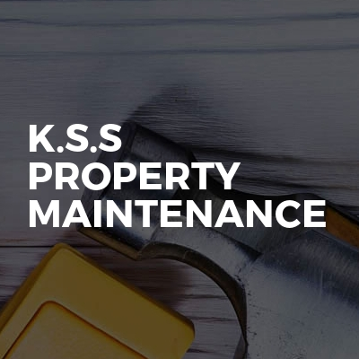 K.s.s property maintenance