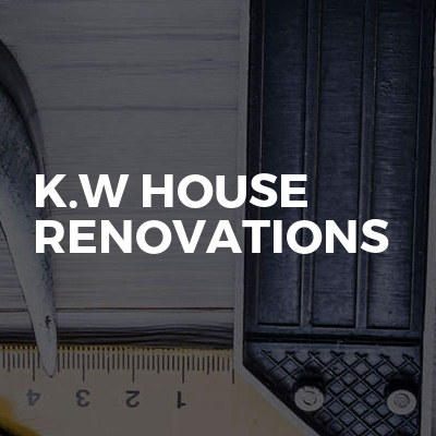 K.w house renovations