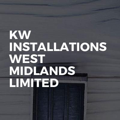 Kw installations West Midlands limited