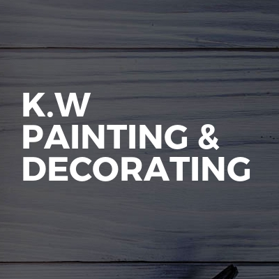 K.w painting & decorating