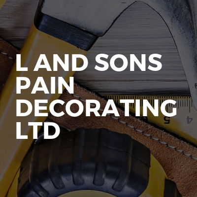 L and sons  pain decorating  Ltd