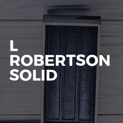 L Robertson Solid