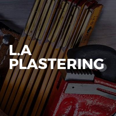 L.A Plastering
