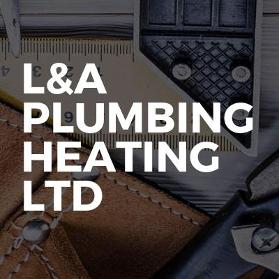 L&A plumbing heating LTD