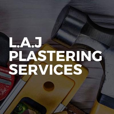 L.A.J plastering services