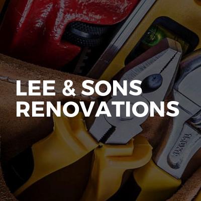 Lee & Sons Renovations