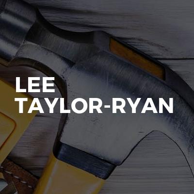 Lee Taylor-Ryan