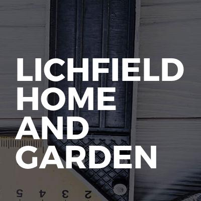 Lichfield home and garden