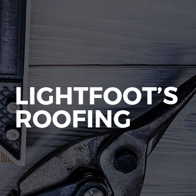 Lightfoot's roofing